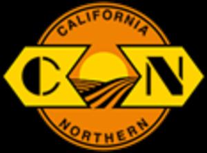 California Northern Railroad - Image: California Northern Railroad logo