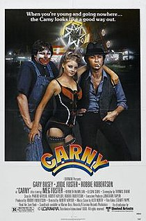 <i>Carny</i> (1980 film) 1980 film by Robert Kaylor