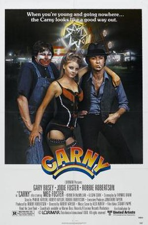 Carny (1980 film) - Image: Carny Film Poster