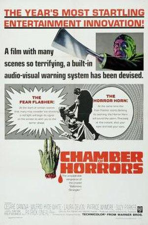 Chamber of Horrors (1966 film) - Image: Chamberofhorrors