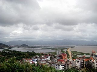 Changle District District in Fujian, Peoples Republic of China