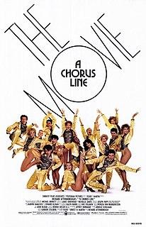 <i>A Chorus Line</i> (film) 1985 film by Richard Attenborough