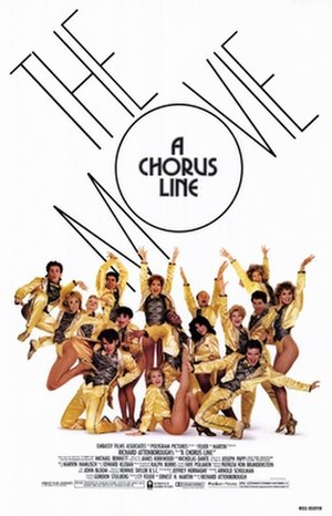 A Chorus Line (film) - Theatrical release poster