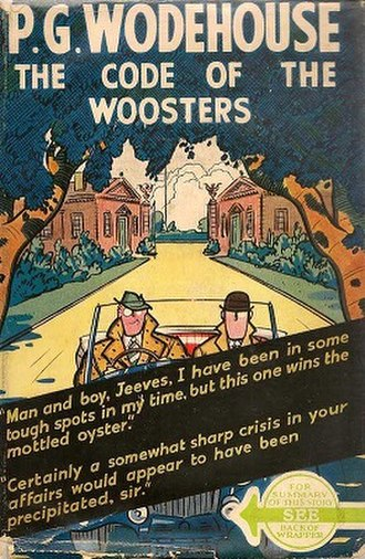 The Code of the Woosters - First US edition