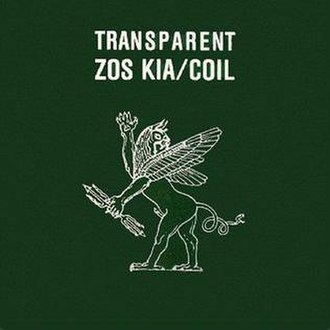 Transparent (Coil album) - Image: Coiltransparentcover