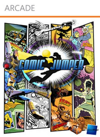 Comic Jumper: The Adventures of Captain Smiley - Xbox Live Arcade cover art