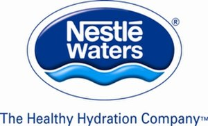 Nestlé Waters - Corp NW Waters log lr