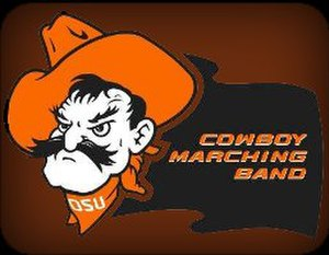 Oklahoma State University Cowboy Marching Band - Image: Cowboy Marching Band Logo