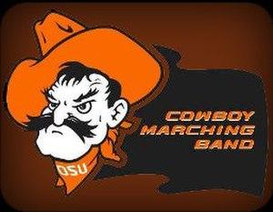 Oklahoma State University Cowboy Marching Band - Image: Cowboy Marching Band Logo
