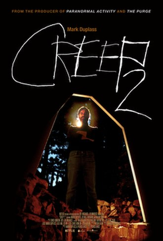 Creep 2 - Theatrical release poster