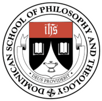 Dominican School of Philosophy and Theology - Seal of the Dominican School