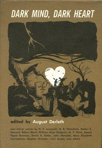 Dark Mind, Dark Heart - Dust-jacket illustration by Dale Mann, design by Gary Gore.