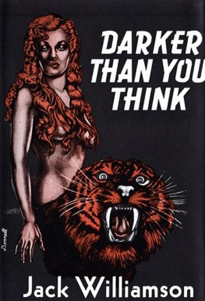 Darker Than You Think - Cover of first edition.