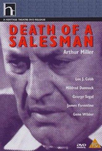 Death of a Salesman (1966 U.S. film) - DVD cover