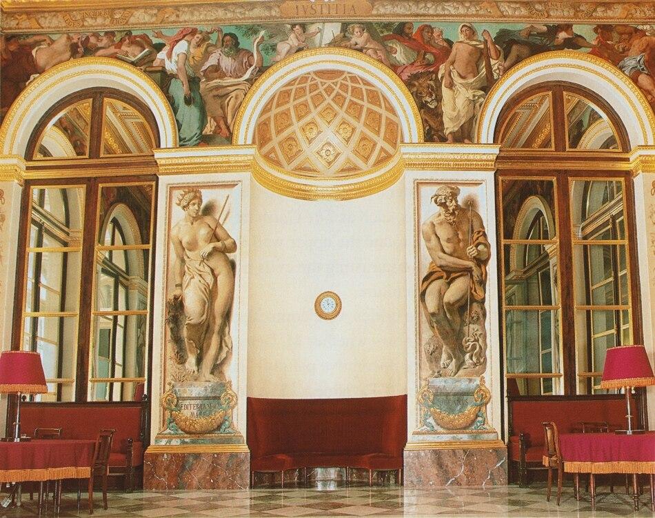 Delacroix salon du roi palais bourbon paris 950px
