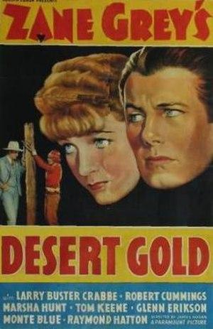 Desert Gold (1936 film) - Film poster