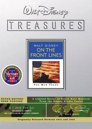 Walt Disney Treasures: Wave Three - Image: Disney Treasures 03 frontline