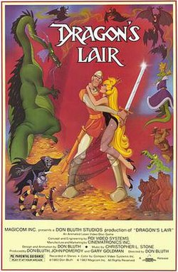 Image result for dragon's lair