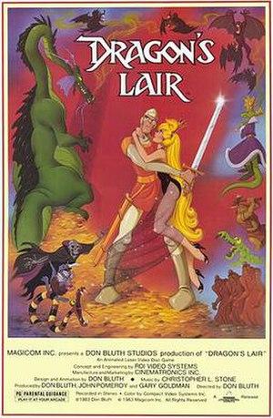 Dragon's Lair (1983 video game) - Image: Dragons lair