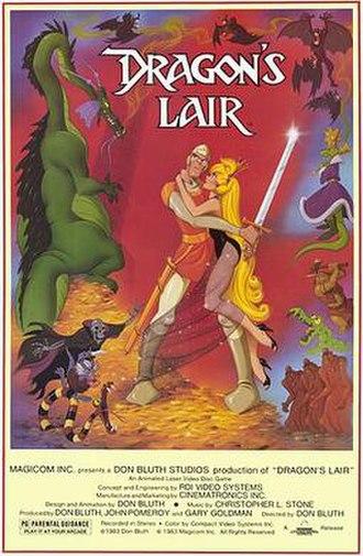 Dragon's Lair - Dragon's Lair promotional poster