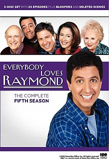 <i>Everybody Loves Raymond</i> (season 5) season of television series