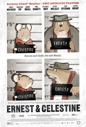 Ernest & Celestine - Image: Ernest & Celestine poster
