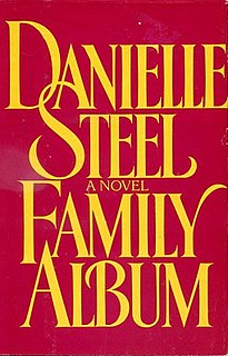 <i>Family Album</i> (novel) romance novel by American Danielle Steel