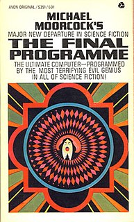 <i>The Final Programme</i> Michael Moorcocks novel