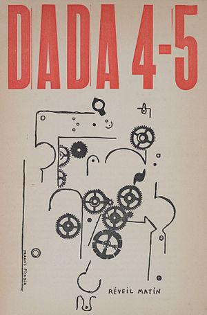 New York Dada - Francis Picabia, Réveil Matin (Alarm Clock), Dada 4-5, Number 5, 15 May 1919