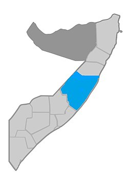 Territory of Galmudug (according to)[1] [2] [3] [4]