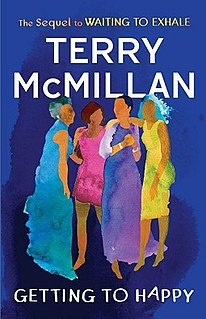 <i>Getting to Happy</i> novel by Terry McMillan