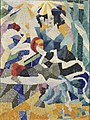 Gino Severini, 1910-11, La Modiste (The Milliner), oil on canvas, 64.8 x 48.3 cm, Philadelphia Museum of Art.jpg