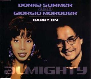 Carry On (Donna Summer song) - Image: Giorgio Moroder Carry On