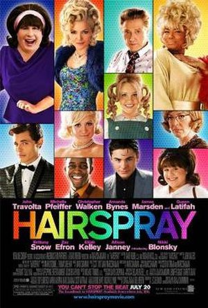 Hairspray (2007 film) - Theatrical release poster