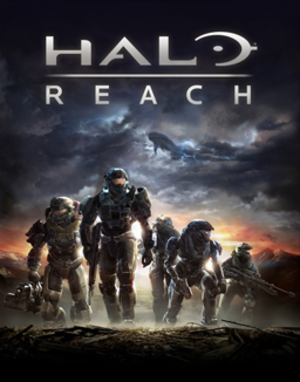 Halo: Reach - Image: Halo Reach box art