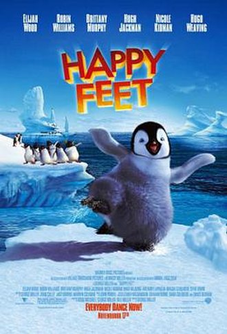 Happy Feet - Theatrical release poster