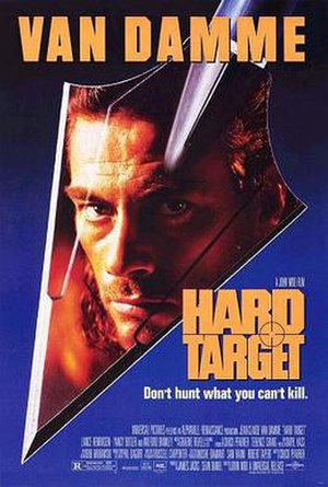 Hard Target - Theatrical release poster