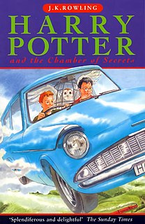 <i>Harry Potter and the Chamber of Secrets</i> 1998 fantasy novel by J. K. Rowling