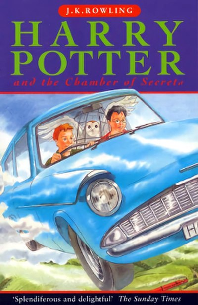 Picture of a book: Harry Potter And The Chamber Of Secrets