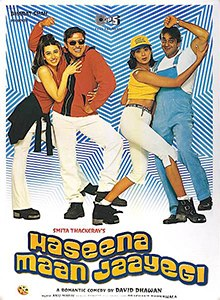 Download Haseena Maan Jayegi 1999 Hindi 480p | 720p WEB-DL