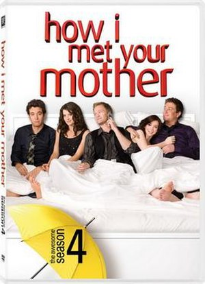 How I Met Your Mother (season 4) - Image: How I Met Your Mother Season 4 DVD Cover