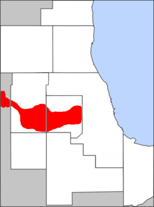 Illinois Technology and Research Corridor - The Illinois Technology and Research Corridor in the Chicago metropolitan area