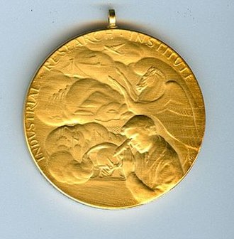 IRI Medal - Picture of IRI Medal, side 1.