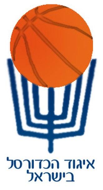 Israel Basketball Association - IBBA Logo Designed in 1972 by graphic artist Kanan Abramson