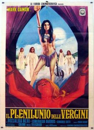 The Devil's Wedding Night - Image: Il plenilunio delle vergini italian movie poster md