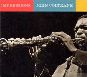 Impressions (John Coltrane album) - Image: Impressions cover