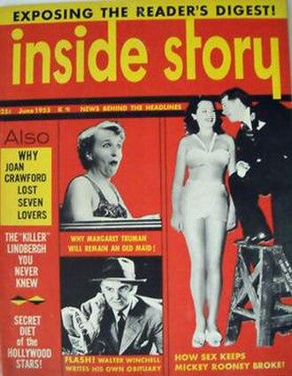 "William Woolfolk - ""Inside Story"" June 1955 edition"