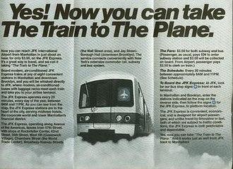 JFK Express - 1978 brochure