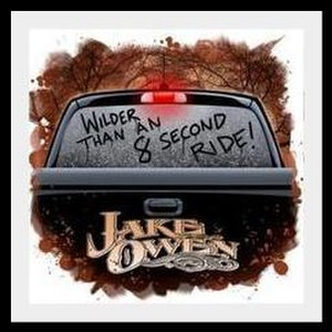 Eight Second Ride - Image: Jake owen esr cover