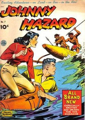 Frank Robbins - Image: Jhaz 7comicbook